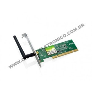 PLACA REDE WIFI PCI 150MB TPLINK