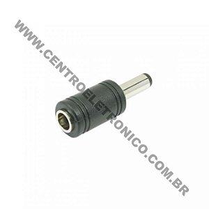 Adap P4 1,3mm X J4 2,1mm Plastico