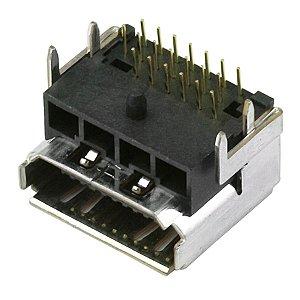 CONECTOR HDMI FEMEA SOLDA PLACA LCD+APOI