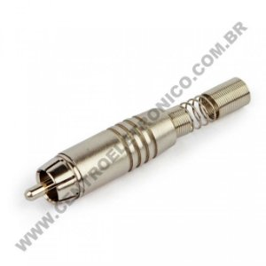PLUGUE RCA NIQ 6MM NINJA STO ANGELO