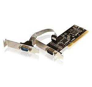 PLACA SERIAL PCI 2P SERIEAL+1P PARCOMTAC