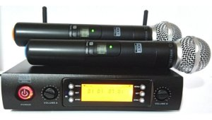 MICROFONE(G)MAO S/FIO DIG MXT UHF DUPLO