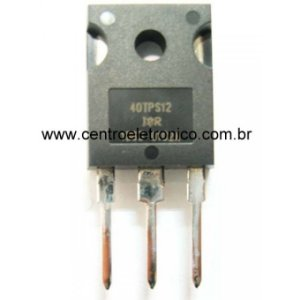 TRANSISTOR 40TPS12APBF 40A/SCR TO247