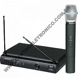 MICROFONE(G)MAO S/FIO KARSECT UHF 1MIC