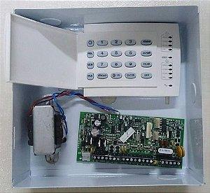 Central Alarme 4setor Paradox Duplo Kit