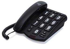 TELEFONE INTELBRAS S/ID TOKFACIL MESA PT