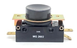 CHAVE MICRO SWITCH 20A COM BOTAO 25MM PRETO MARGIRIUS MG2602