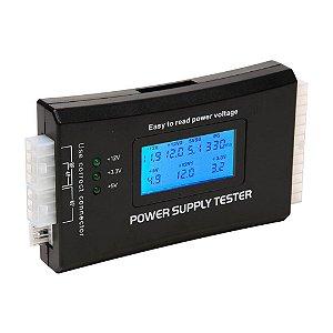 TESTADOR DIG LCD FONTE ATX 20P/24P SATA