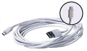 CABO(G)USB A-M V8 3MT SUMAY BRANCO