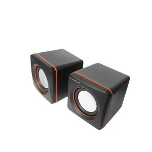 CAIXA MULTIMIDIA USB+P2ST 6W PRETA SUMAY PC1310