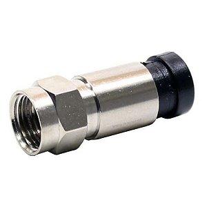 CONECTOR F RG59 COMPRESSAO MET PT F5086B