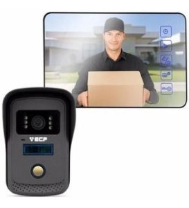 VIDEO PORTEIRO(G)COLOR LCD 4P ALARD MIRR