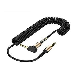 Cabo Audio 1p2st+1p2st 1,20mt 90gr Espiral Br