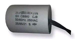 CAPACITOR PARTIDA 25MFX250VAC ACV 2F