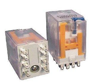 RELE 220VAC 10A 2CT 8T REV MTX(ENC)