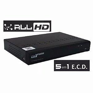 DVR 4CAM FULL HD LUXVISION C/HDMI