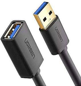 CABO USB A-M + A-F 1,5MT 3.0 AZUL(EXTENSOR) XCEL