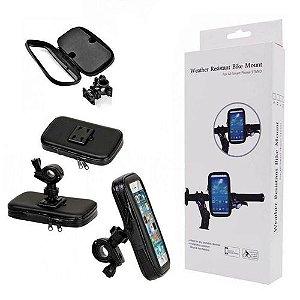 SUPORTE CEL/GPS 6,3POL P/MOTO/EXBOM PT