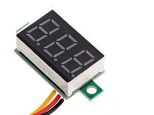 VOLTIMETRO DIG 0-30VDC 3DIG VM MINI10X25