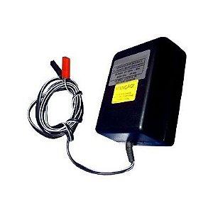 CARREGADOR 12V 0,4A PDE C/FLUT P/BAT-4A