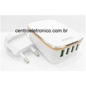 CARREGADOR CELULAR 4 USB 4,4A EBAI SEM CABO