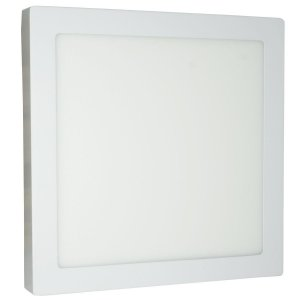 LUMINARIA LED SOBREPOR 30X30CM 25W MORNO