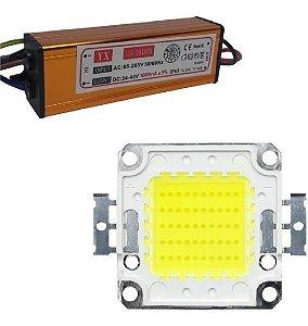 REATOR LED DRIVE(KIT)100W REFLETOR+LED