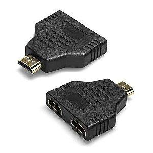 DISTRIB(G)HDMI 1X2 SPLITER PASSIVO FIXO