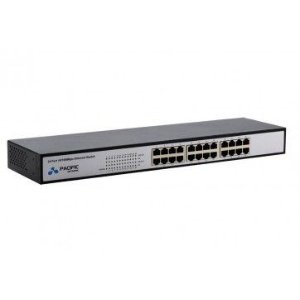 HUB SWITCH(G)24P 10/100 PACIFIC NETWORK