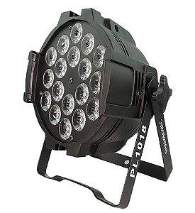 LUMINARIA PAR LED 18LED RGB DMX512 C/SUP