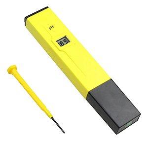 Medidor Digital de PH para Água com Estojo