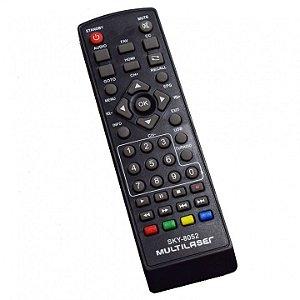 CONTROLE CONVERSOR DIGITAL HDTV MULTILASER