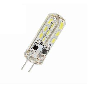 LAMPADA 220V 24LED BR-MORNO LUSTRE G4
