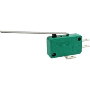 CHAVE MICRO SWITCH 10A COM HASTE 30MM 3T METALTEX NSO-040