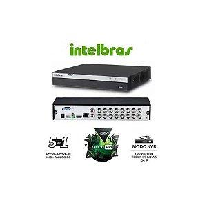 DVR(G)16CAM HDTVI INTELBRAS 1080P S/HD
