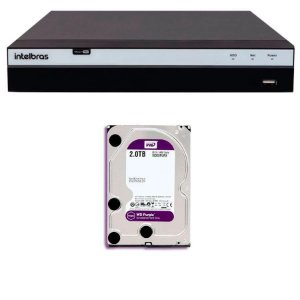 DVR(G)16CAM MULTIHD+O HD INTELBRAS 1080P