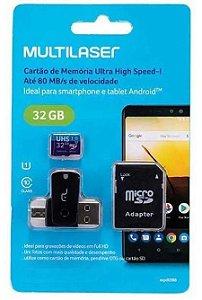 CARTAO(G)MEMORIA MICRO SD 32GB+ADAP OTG