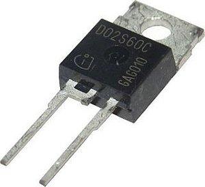 DIODO IDV02S60C 2A 600V SCHOTTKY TO220