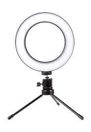 Lampada Ring Light Led C/usb 3tons C/sup Celular Br