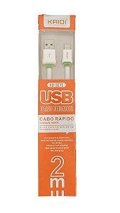 CABO(G)USB A-M TIPO C 2MT BR KAIDI
