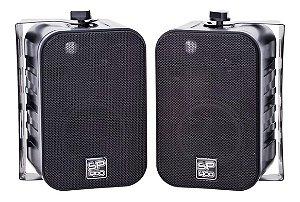 Caixa Som 5p Amb Dsk Sound Preta 17x11x10cmt