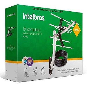 ANTENA TV EXTERNA HDTV COM CABO 10 METROS INTELBRAS AE5010