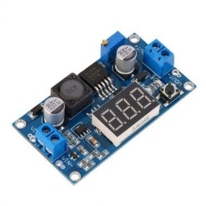 MODULO CONVERSOR BOOST STEP-UP COM DISPLAY XL6009 PARA ARDUINO