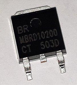 TRANSISTOR MBRD10200 SMD TO252 MET