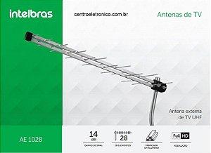 ANTENA TV EXTERNA HDTV 28 ELEMENTOS INTELBRAS AE1028