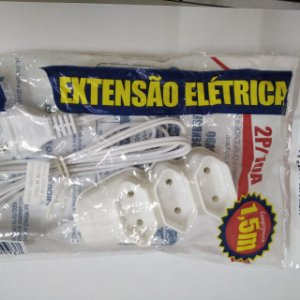 EXTENSAO 1,5MT 3TOM PP 20A 3X1,5MM CZ