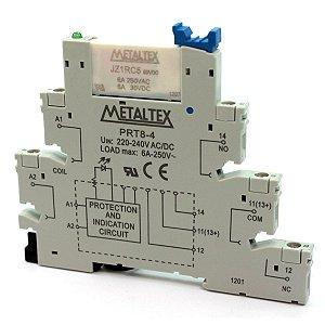 RELE 220V 6A 1CT 5T C/INTERFACE PRT8 MTX