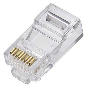 Conector Rj45 Cat6e 8p8 Macho R66-as