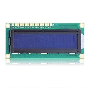 Diodo Display Lcd Azul 16x2 100x30mm Sce