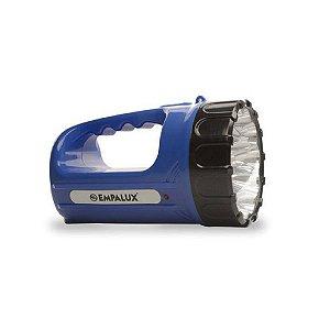 Lanterna 15led Recarr Biv Azul Empalux